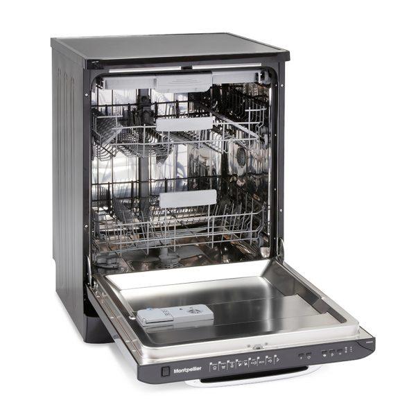 Montpellier MAB600K Retro Full Size Dishwasher 3