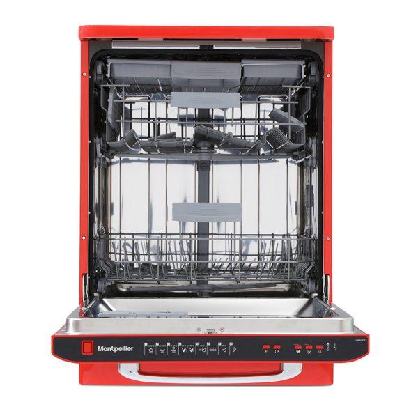 Montpellier MAB600R Retro Full Size Dishwasher 2