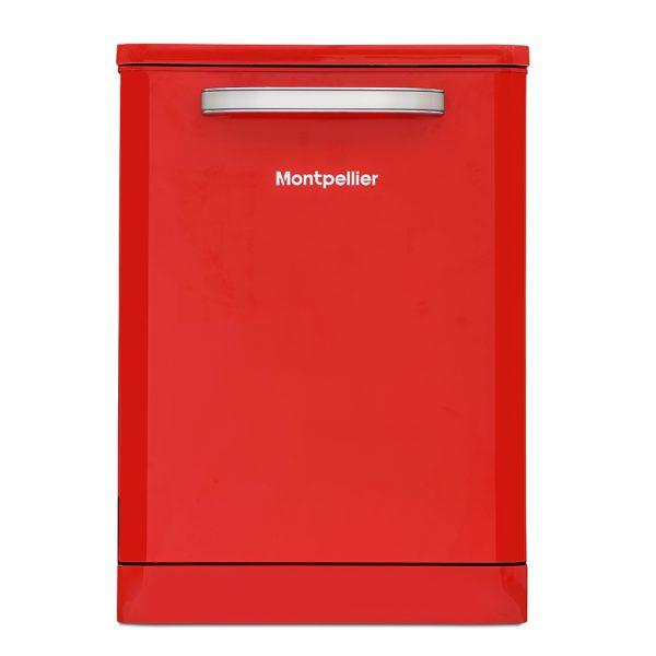 Montpellier MAB600R Retro Full Size Dishwasher 1