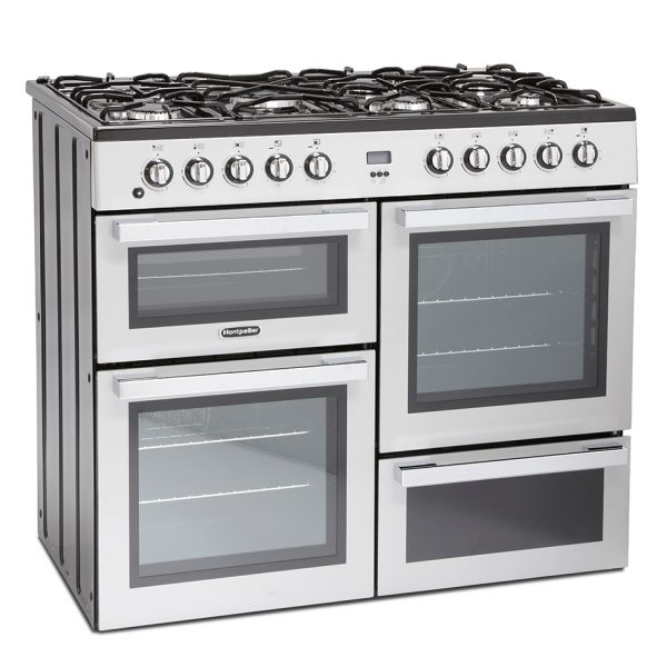 Montpellier MDF100S Dual Fuel Range Cooker