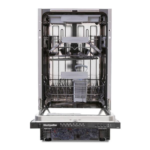 Montpellier MDI500 Slimline Integrated Dishwasher 1