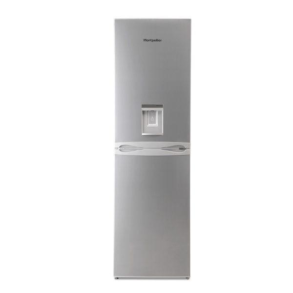 Montpellier MFF183ADX No Frost Combi Fridge Freezer