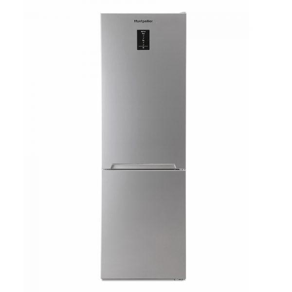 Montpellier MFF186ALX No Frost Combi Fridge Freezer in an Inox Look 1