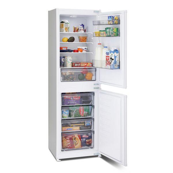 Montpellier MIFF5051F Integrated Frost Free Fridge Freezer 1