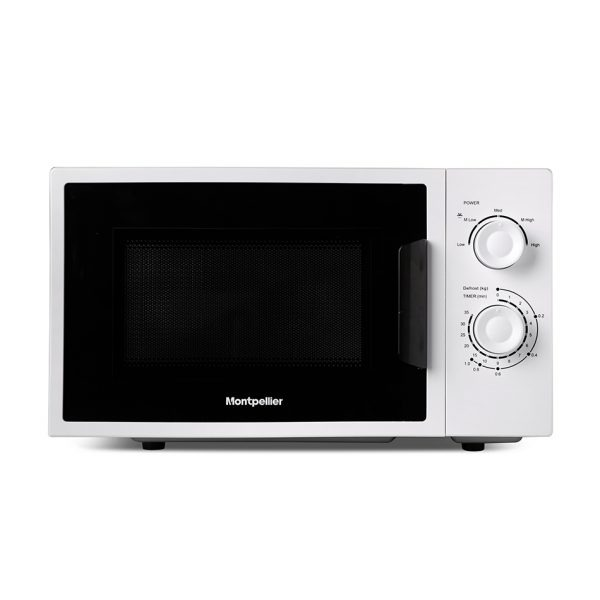 Montpellier MMW21SIL Solo Microwave in Silver 1