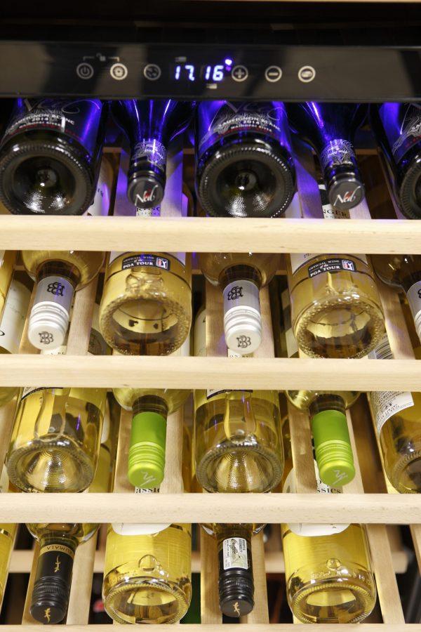 Montpellier WS166SDX 166 Bottle Wine Cooler 6