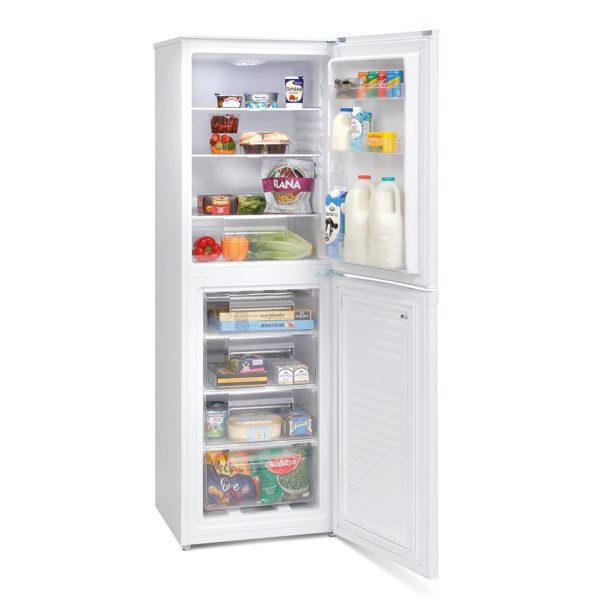Montpellier MFF171W Frost Free Combi Fridge Freezer 2