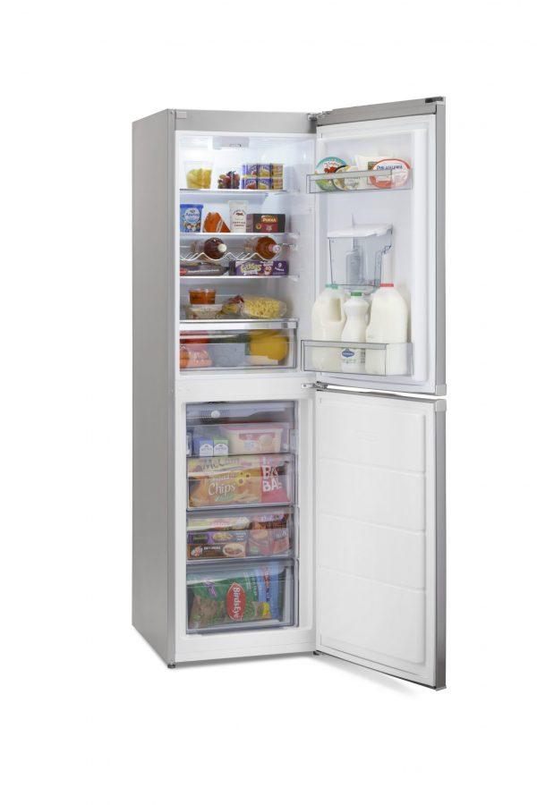 Montpellier MFF183ADX No Frost Combi Fridge Freezer 1