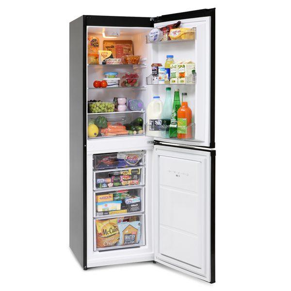 Montpellier MFF170K Frost Free Combi Fridge Freezer 1