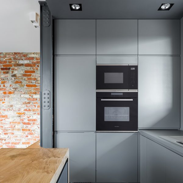 Montpellier MWBI73B Integrated Microwave & Grill 3