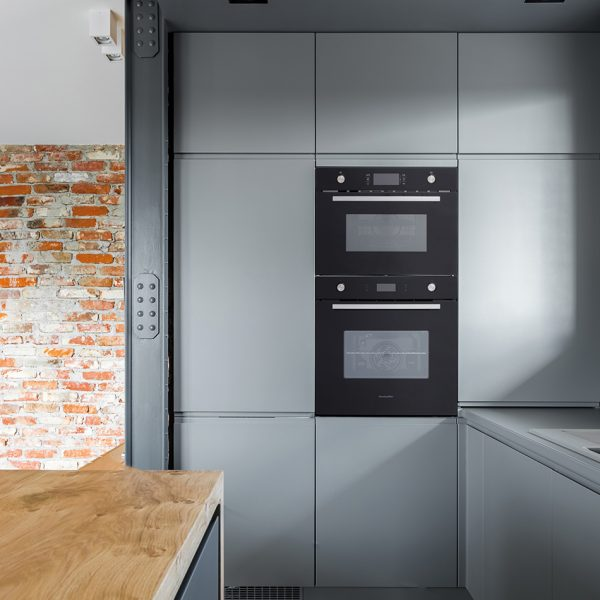 Montpellier SFO73B Single Oven 3