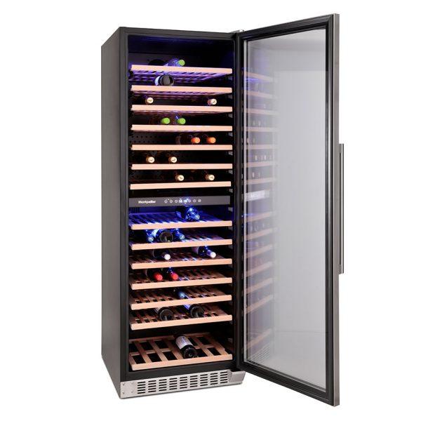 Montpellier WS166SDX 166 Bottle Wine Cooler 1