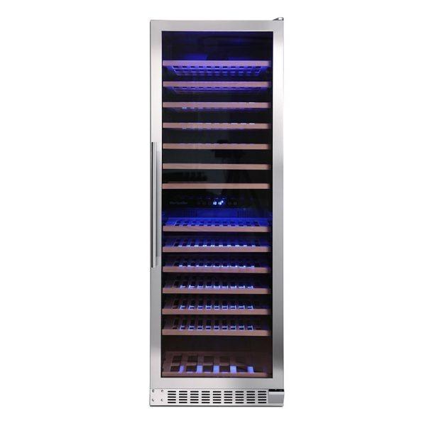 Montpellier WS166SDX 166 Bottle Wine Cooler 2