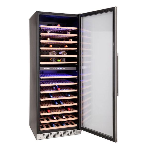 Montpellier WS181SDX 181 Bottle Wine Cooler 2