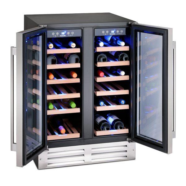 Montpellier WS38SDDX 38 Bottle Wine Cooler 1