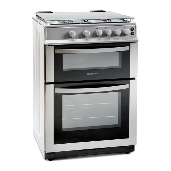 Montpellier MDG600LS 60cm Gas Double Oven