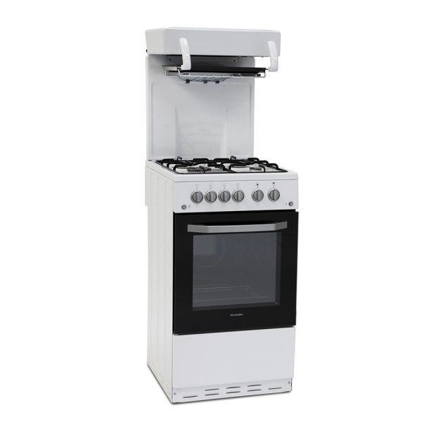 Montpellier MEL50W Eye Level Cooker in White
