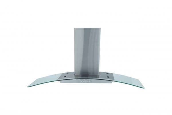 Montpellier MHG900X Glass Chimney Hood