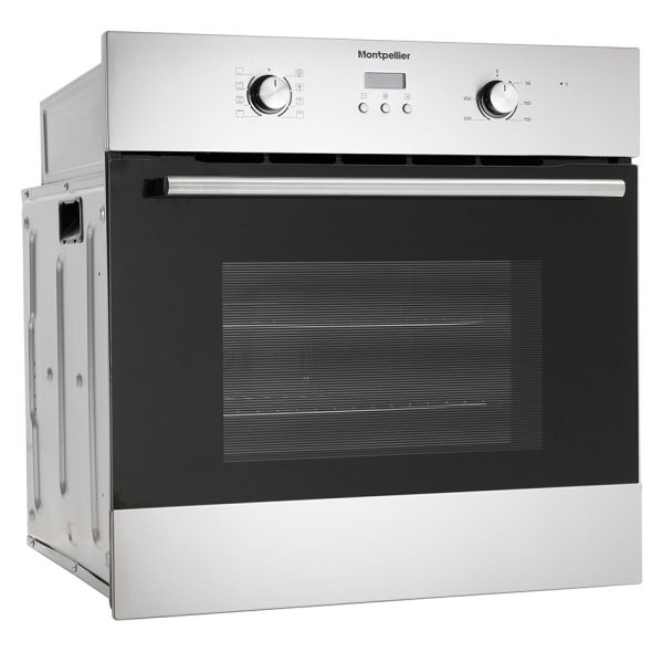 Montpellier SFO59MX Single Built-In Oven, Electric, Stainless Steel