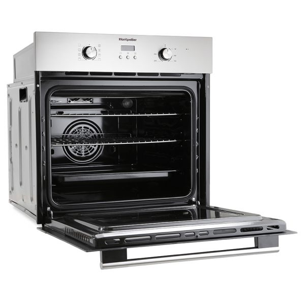 Montpellier SFO59MX Single Built-In Oven, Electric, Stainless Steel 1