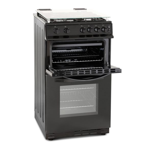 Montpellier MDG500LK 50cm Gas Double Oven 2