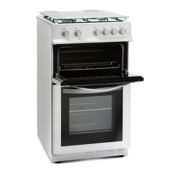 Montpellier MDG500LW 50cm Gas Double Oven 1