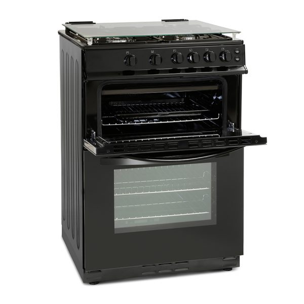 Montpellier MDG600LK 60cm Gas Double Oven 1