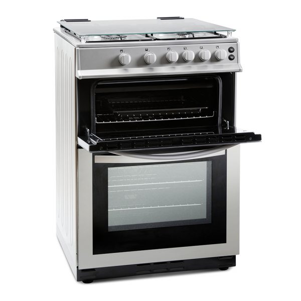 Montpellier MDG600LS 60cm Gas Double Oven 1