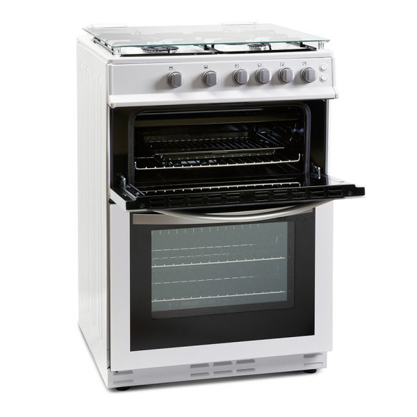 Montpellier MDG600LW 60cm Gas Double Oven 2