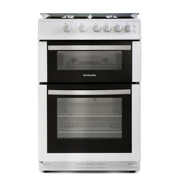 Montpellier MDG600LW 60cm Gas Double Oven 1
