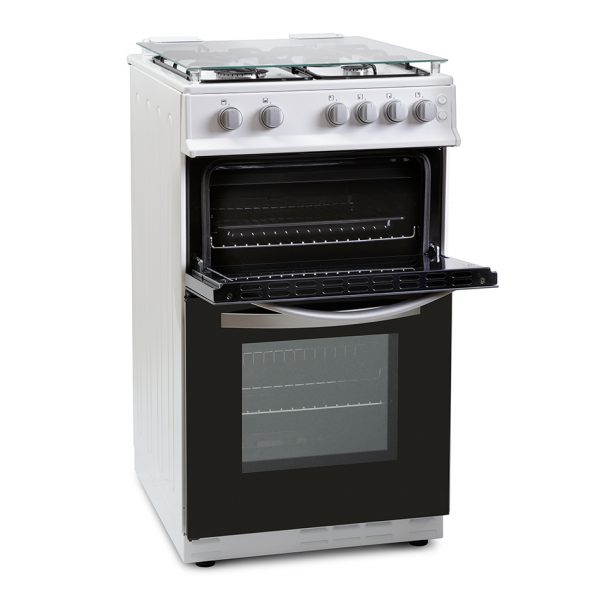 Montpellier MSG50W 50cm Single Cavity Gas Cooker 1