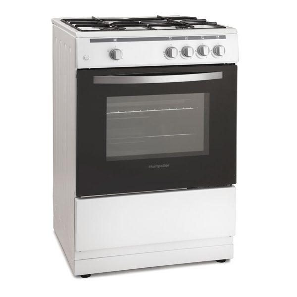 Montpellier MSG60W 60cm Single Cavity Gas Cooker 2