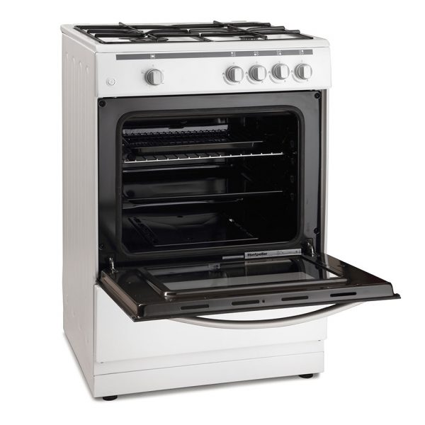 Montpellier MSG60W 60cm Single Cavity Gas Cooker 1