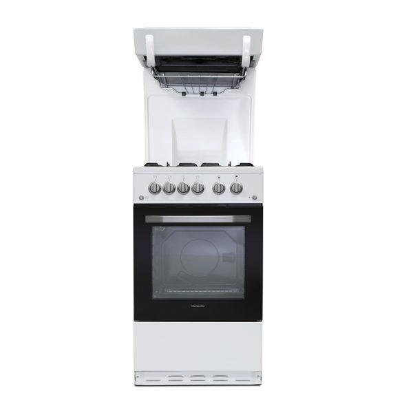Montpellier MEL50W Eye Level Cooker in White 1