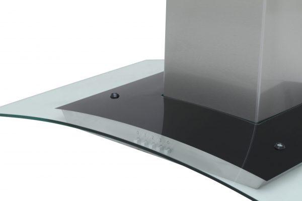 Montpellier MHG600X Glass Chimney Hood 2