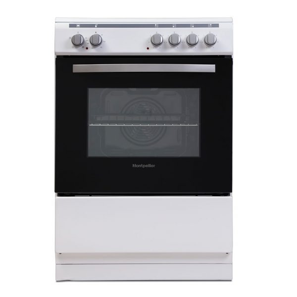 Montpellier MSC60FW Single Cavity 60cm Electric Cooker 1