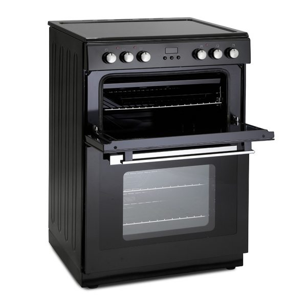 Montpellier RMC61CX Electric Range Cooker black 1
