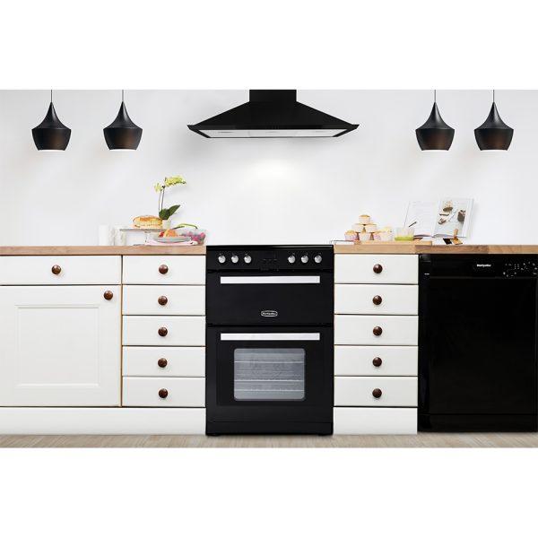 Montpellier RMC61CX Electric Range Cooker black 3
