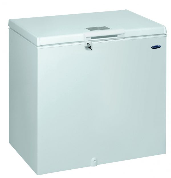 IceKing CF252W 252 Litre Large Chest Freezer