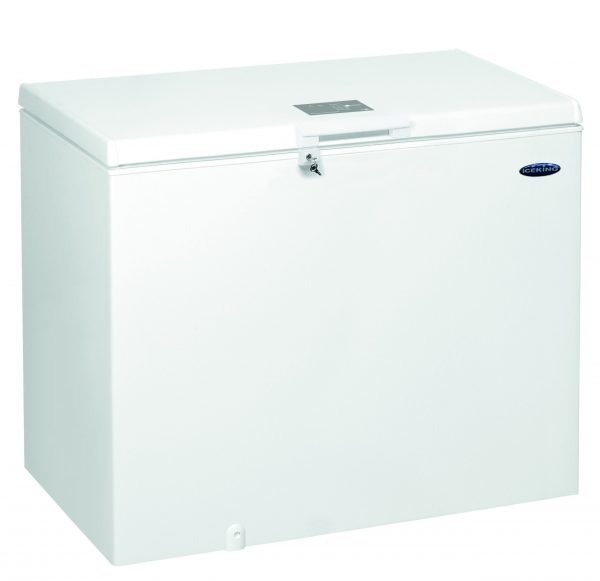 IceKing CF312W 312 Litre Large Capacity Chest Freezer