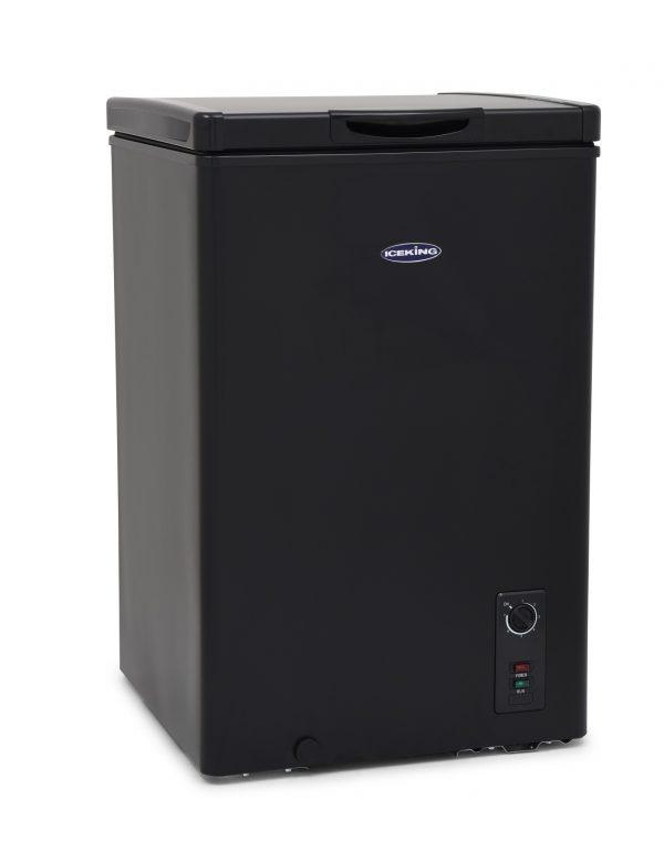 IceKing CF98BK 98 Litre Black Chest Freezer
