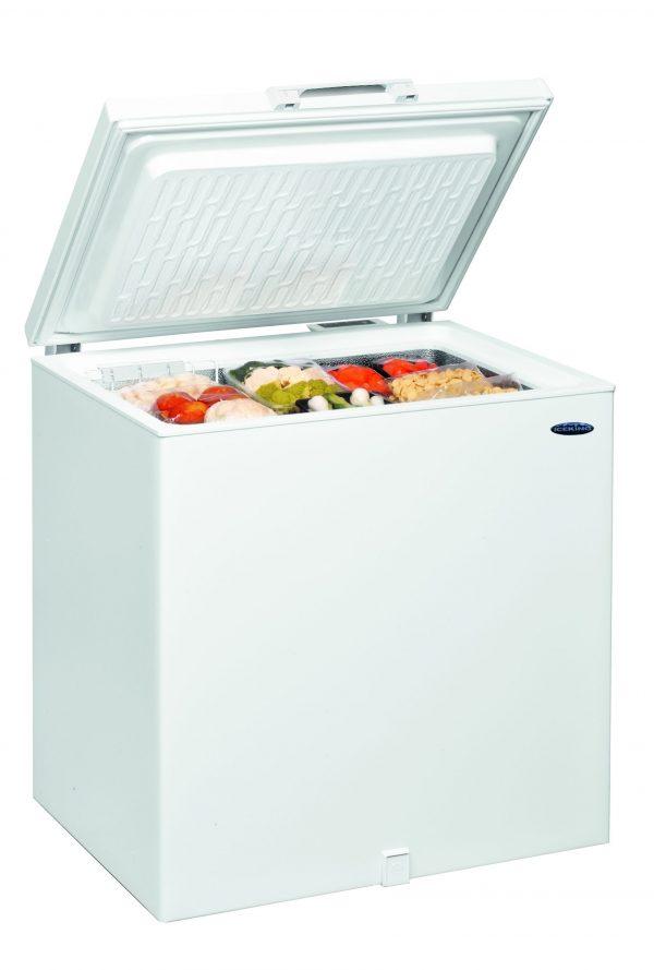 IceKing CF202W Large Capacity Chest Freezer 2