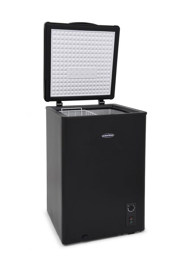 IceKing CF98BK 98 Litre Black Chest Freezer 1