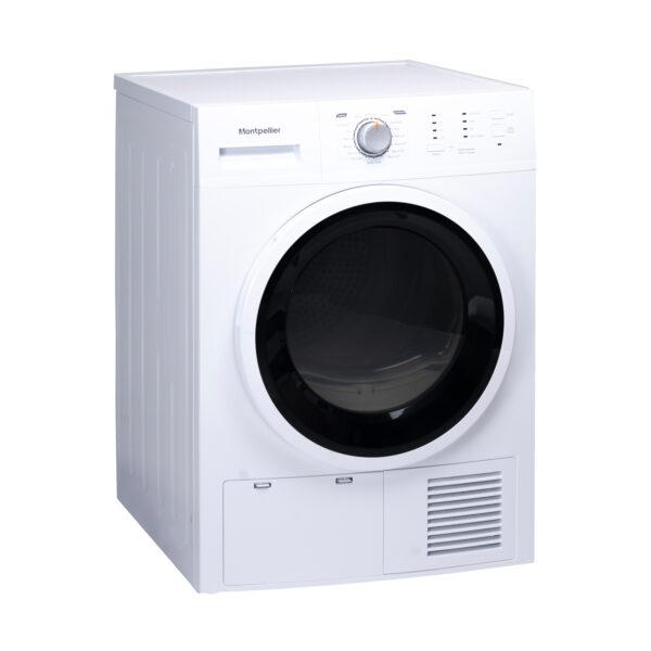 Montpellier MCD8W Freestanding 8kg Sensor Condenser Dryer 1
