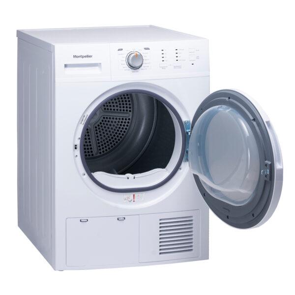 Montpellier MCD8W Freestanding 8kg Sensor Condenser Dryer 2