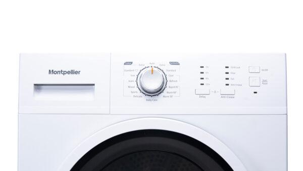 Montpellier MCD8W Freestanding 8kg Sensor Condenser Dryer 4