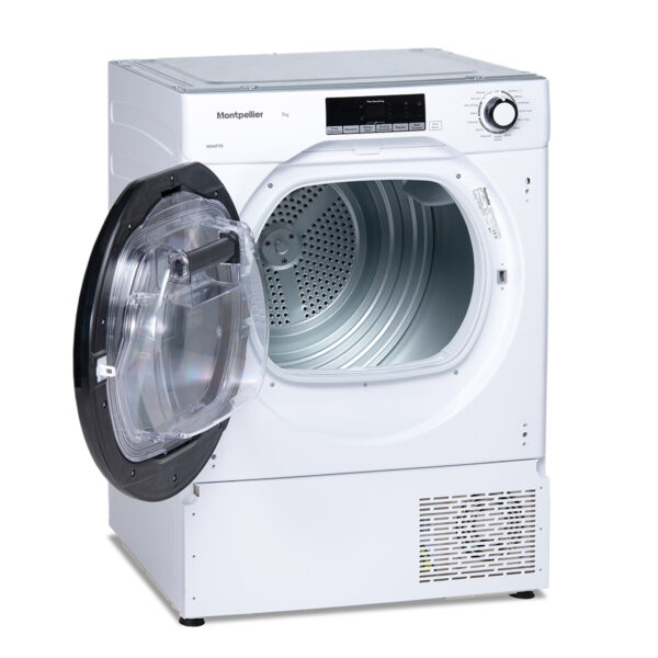 Montpellier MIHP70 7Kg Integrated Heat Pump Tumble Dryer 3