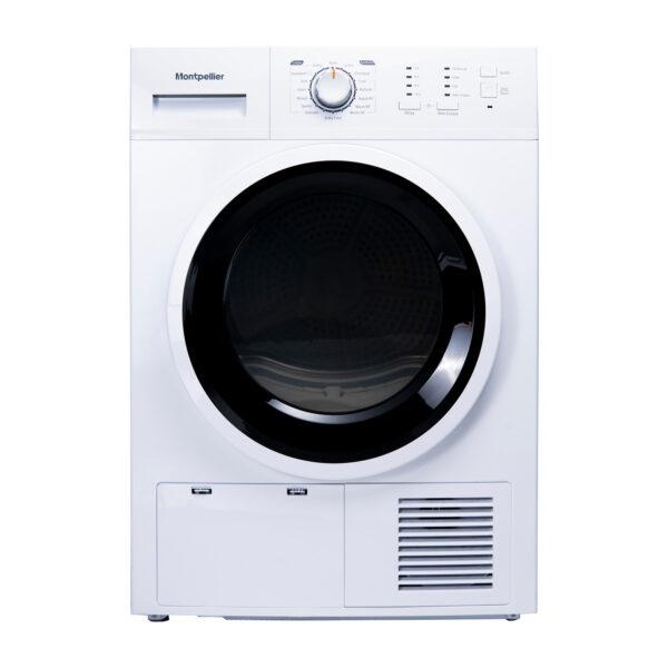 Montpellier MCD8W Freestanding 8kg Sensor Condenser Dryer