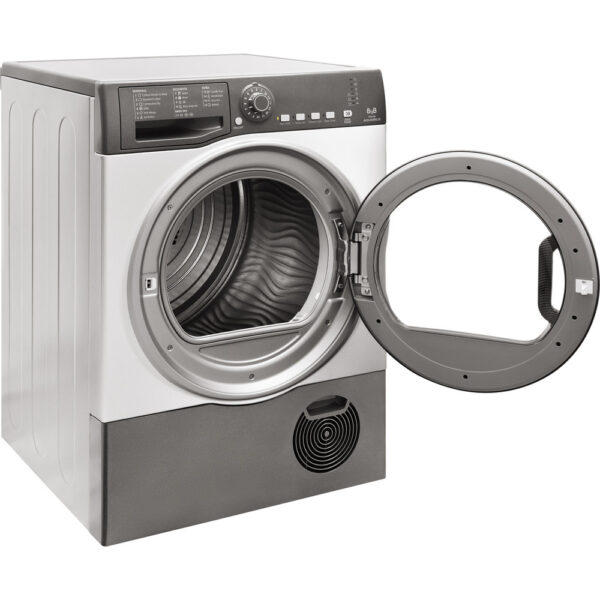 Hotpoint TCFS 83B GG.9 Freestanding Tumble dryer Graphite 2