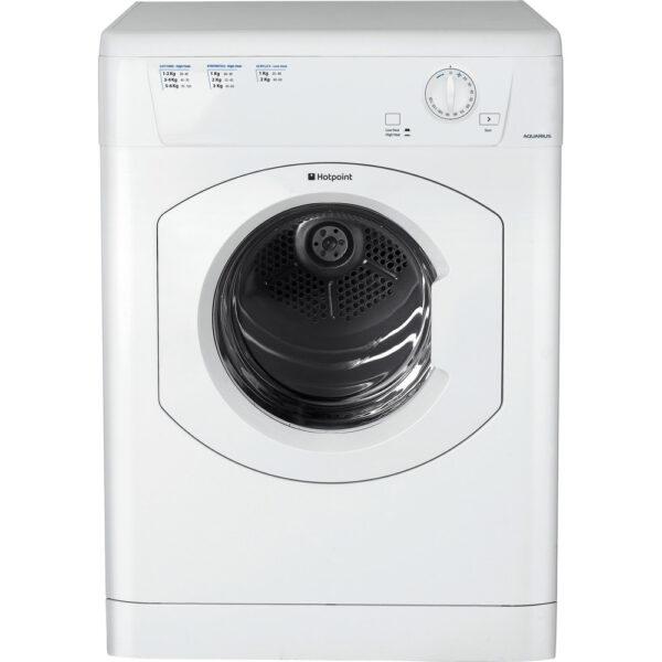 Hotpoint TVHM 80C P Freestanding Tumble dryer 1